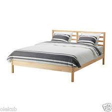 Slatted Bed Base Queen Ikea Slatted Bed Base 30 Slats Queen Ebay