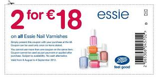 buy boots voucher boots offer x2 essie nail polishes for 18 voucher here so sue me