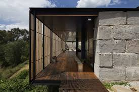 Home Design Building Blocks by Innovative Family Home Built Of Reclaimed Concrete Blocks