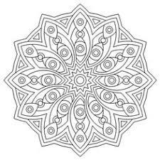 star mandala color embroidery mandalas