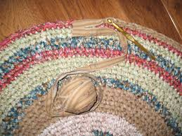 Tied Rag Rug 202 Best Rugs Images On Pinterest Crochet Rugs Crafts And