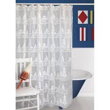 Sailboat Shower Curtains Lighthouse Andsailboat Shower Curtain B Jpg