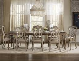 Chatelet Rectangular Leg Dining Room Set By Hooker Furniture - Hooker dining room sets