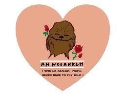 Star Wars Valentine Meme - amusing star wars valentine meme from wookiee image quotesbae