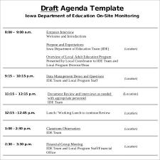 research agenda samples