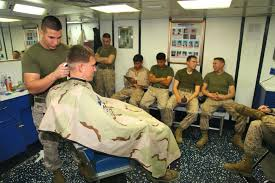 pictures of reg marine corps haircut dvids news deployed marines ensure everyone looks fresh with a