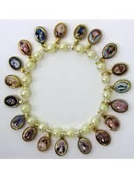 saints bracelet religious bracelet saints bracelet with religious