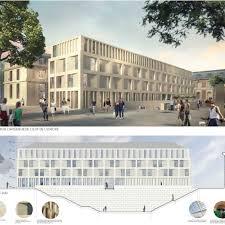 bureau de poste versailles hotel de la poste dupont nicolay architectes ingénierie