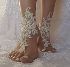 barefoot sandals for wedding ivory wedding barefoot sandals flippies