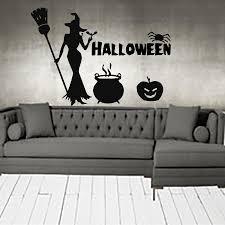 Online Get Cheap Large Halloween Wall Decals Aliexpress Com