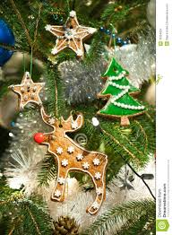 baked christmas tree decoration stock images image 33354854