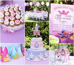 sofia the party ideas kara s party ideas disney princess themed birthday party sofia