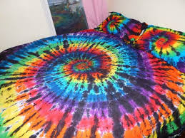 Tie Dye Bed Set Tie Dye Bed Set White Bed