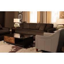 Microfiber Sofa And Loveseat Tara2 Dk Brown Micro Sofa
