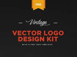 design a vintage logo free free vintage logo kit 15 vector logo templates by zippypixels