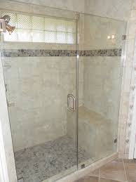 Seamless Glass Shower Door Inline Frameless Shower Door Peters Glass Shop