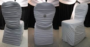 Cover Chairs Wholesale Dining Room Top Ruched Chair Covers Wedding For Sale In White