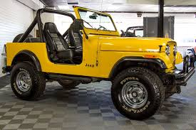 jeep yellow 1982 jeep cj 7 yellow