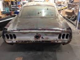 Black 1967 Mustang Fastback 1967 Ford Mustang Fastback Gt S Code Raven Black