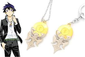lock pendant necklace images 2018 japanese anime nisekoi ichijyo raku lock pendant necklace new jpg