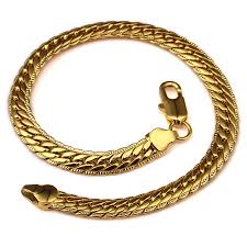man bracelet online images Online shop er cool men hip hop bracelet male simple heavy gold jpg