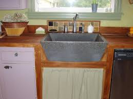 Kitchen Sink Brands by Good Quality And Durable Concrete Farmhouse Sink