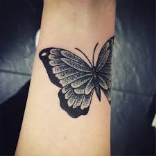 20 butterfly tattoos on wrist design and ideas