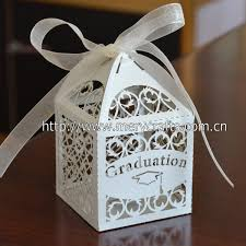 graduation boxes 100pcs lot graduation party supplies graduation cap laser cut