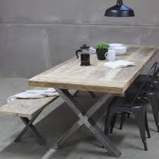 dining tables barn wood table diy reclaimed wood and steel