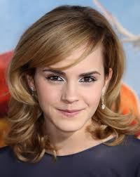 emma watson hairdos easy step by step emma watson medium hairstyle wavy haircut with swept bangs
