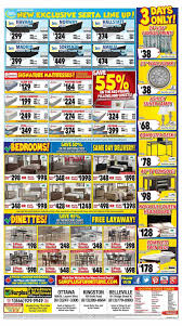 surplus furniture u0026 mattress warehouse ottawa flyer may 30 to june 5