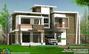 2450 contemporary home with cost of construction kerala home