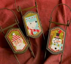 cross stitched ornaments for all styles and decor