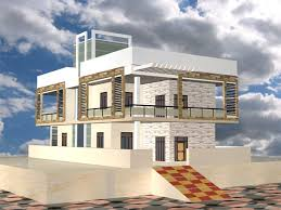 Chic Idea 12 Exterior House Designs 3d Max 3ds Max Exterior