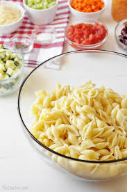 Summer Pasta Salad Recipes Minestrone Pasta Salad The Chic Site