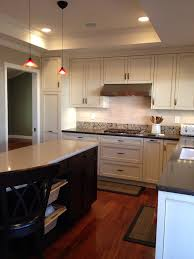 edison light fixtures kitchen traditional with cherry glass mosaic tile