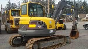 volvo ecr58 compact excavator service repair manual instant