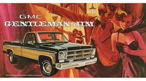 Vintage Ford Truck Ads - before luxury pickups were everywhere there was the 1975 gmc
