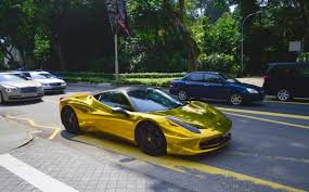 cars ferrari gold gold chrome ferrari 458 italia madwhips