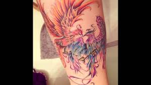 best phoenix tattoo designs for boys and girls youtube