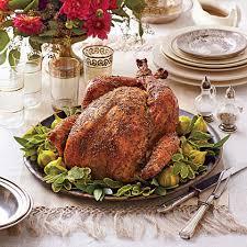 brined herb roasted turkey recipe myrecipes