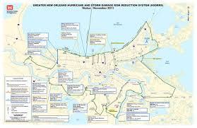 Map Of The French Quarter In New Orleans by New York State Marine Education Association Restoration Efforts