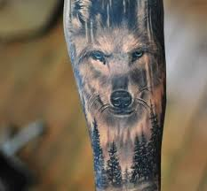 amazing forearm wolf tattoos for tattoos and more