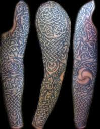 collection of 25 tribal and celtic sleeve tattoos