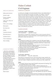 highway design engineer sample resume 7 civil engineering cv