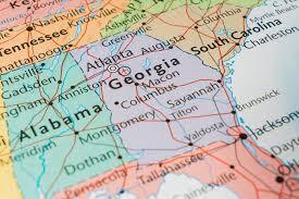 Atlanta Area Map Map Of Georgia Usa