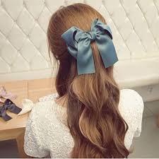 hair bow tie wholesale princess hair bow tie clip satin jpg 500 500 ropa y
