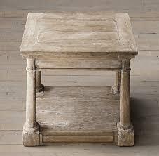 restoration hardware sofa table bertrand side table coffee tables restoration hardware wood