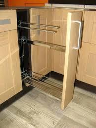 meuble à épices cuisine meuble a epices cuisine meuble acpices et torchons de largeur 15cm