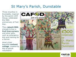 cafod fundraising stories
